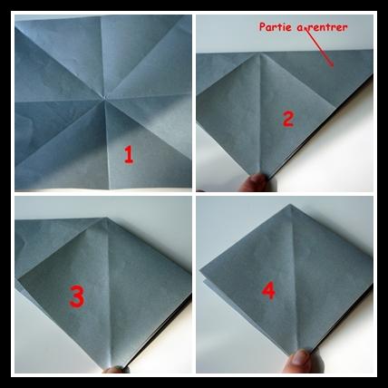 suspension grue en origami diy. Black Bedroom Furniture Sets. Home Design Ideas