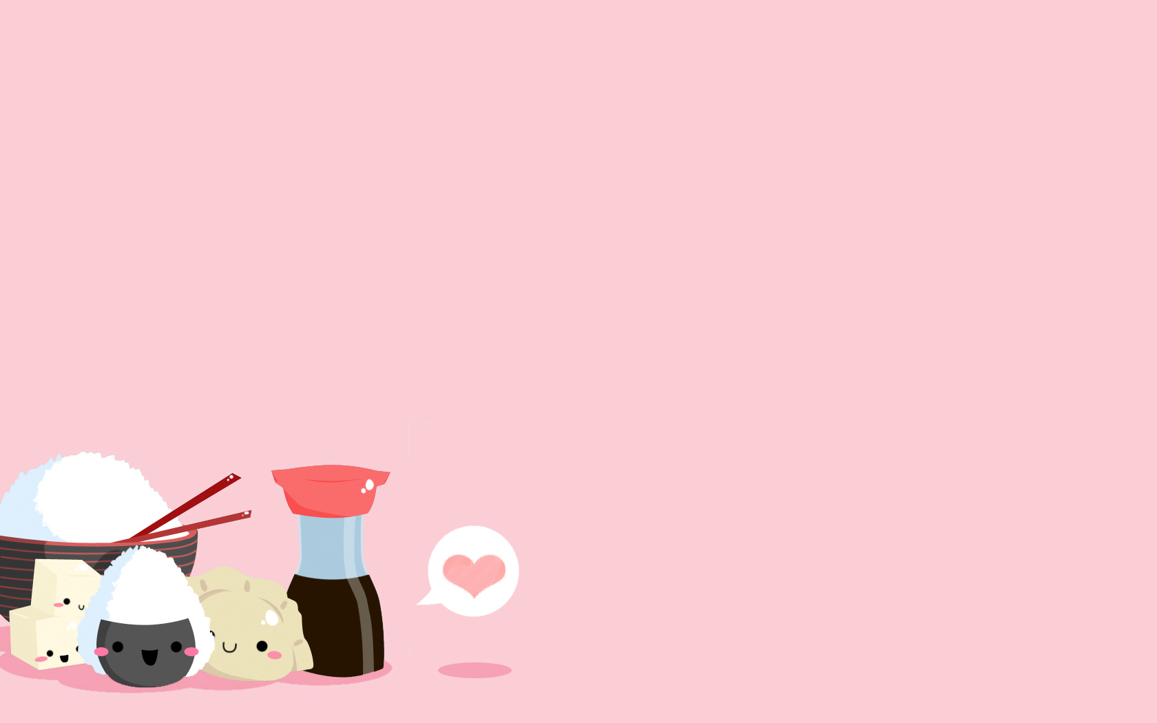 Fonds d cran kawaii mignon - Cute asian cartoon wallpaper ...