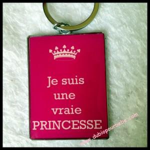 porte clef princesse