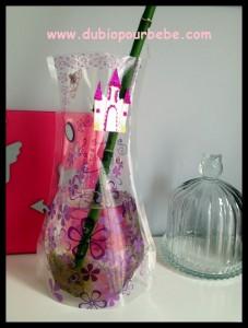 vase en plastique pliable